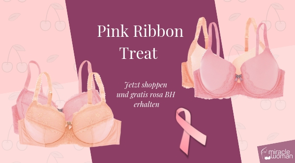 Pink Ribbon Treat: Gratis BH