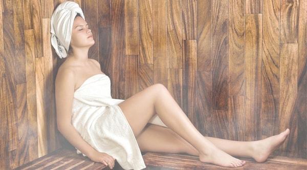 Sauna - Wärme gegen Verspannung
