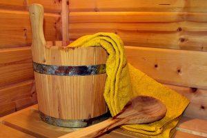 Saunagänge für eine gesunde Brust