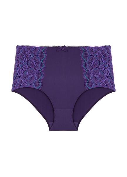 Panty lila Luccia Detail