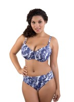 "Bikini-Top ""Lanai"" | blau/weiß | vorne"