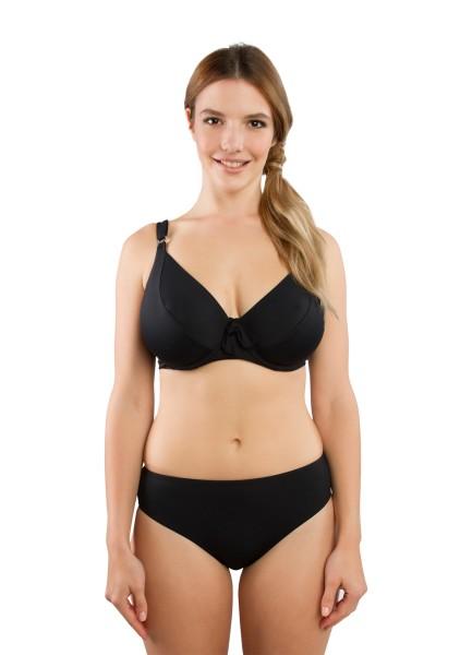"Bikini-Set ""Barbados Minimizer"" | schwarz | vorne"