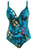 """Badeanzug """"Seychelles""""   azure   detail"""